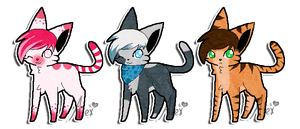 Kitty Adopts: SOLD by Key-Ring