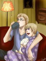 AT - Berwald and Tino by LotusMartus