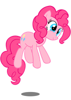 Pinkie Jump Vector by InternationalTCK