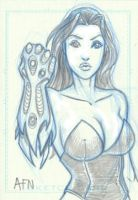 Witchblade commission 36 by Xenomrph