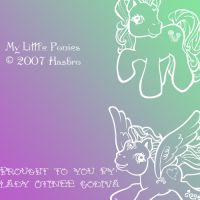 My Little Pony Brushes by Otinee