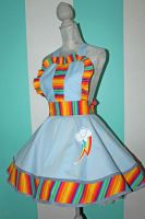 Rainbow Dash - MLP- Cosplay Pinafore by DarlingArmy