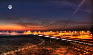 Fullmoon HDR by HDRenesys