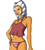 Stylized Ahsoka-Colored by Raikoh-illust