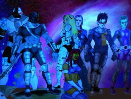 Titans No More part TWO by KennyGordon