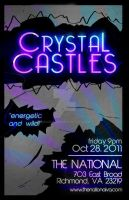 Crystal Castles Poster by xMarzisme