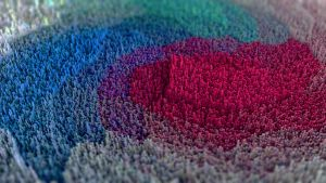 Colour Topography by Benjhs