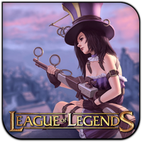 League of Legends Caitlyn by griddark