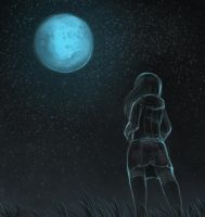 Blue Moon by Blueberry-Cat