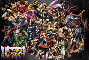 Ultra Street Fighter IV by SBlister