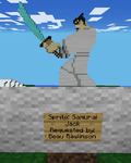 Minecraft Art: Samurai Jack by GodofDarness18