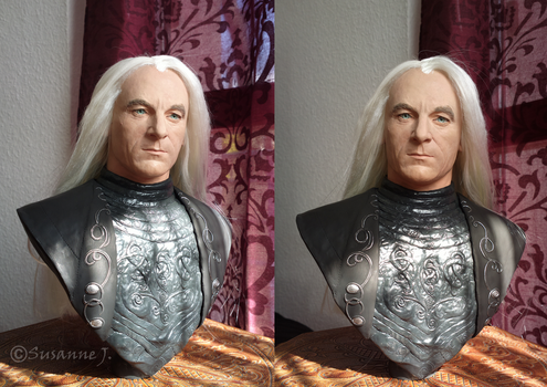 Lucius Malfoy Bust by SalazarinaSlytherin
