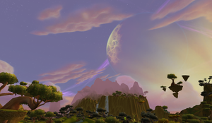 The Skies of Nagrand by middy399