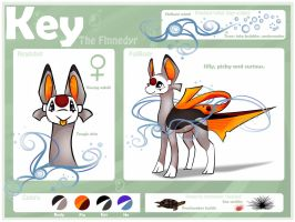 Key the finnedyr by AlmondFeather