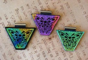 Fanciful Butterfly Fused Glass by FusedElegance