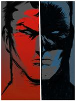 MASKS - Bruce X Batman by Scramasax