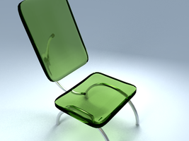 The Green Chair by ARVash