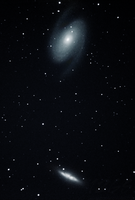 M81 and M82 in Ursa Major by 12GSuper