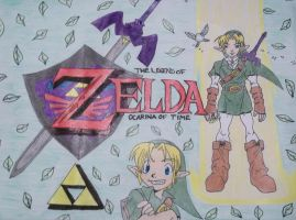 Ocarina of Time by FourSwordsFanAMZ