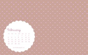 GLUEGUNGIRL FEBRUARY WALLPAPER 2012 by thegluegungirl