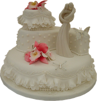 Cool Wedding cake PNG by DoloresMinette
