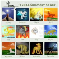 2014 Summary Of Art by Nutmeg777