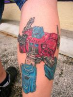 TRANSFORMER TIME by newtskewltattoo