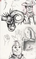 some sketches by Tobizord