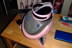 Mari's 3.0 helmet back by ShinWH0