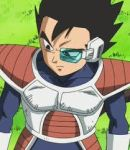 vegeta's brother Tarble by Vegetaluvr
