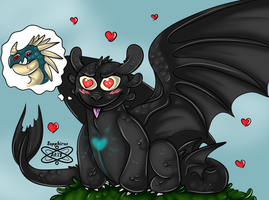 I love her.... +HTTYD+ by iSapphirus