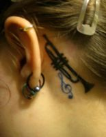 For the love of music: tattoo #4 by o0Psy0o