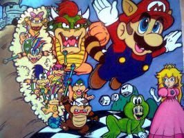 Super Mario Bros 3 by Sky-The-Echidna