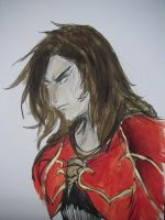 Gabriel Belmont Sketch Colored by Eric-Lecarde