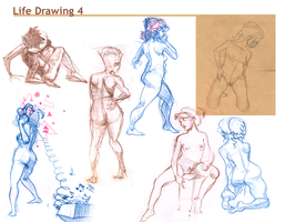 Life drawing p5 by Black85