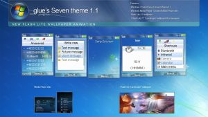 _glue's Seven theme 1.1 by glue-poland