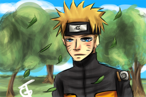 Naruto by goldenthyme