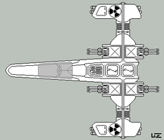 Space Fighter wip by RedimusPrime