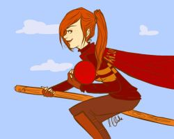Gryffindor's Chaser by clarkey-lou