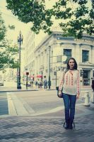 a walk in San Francisco by simonamoon