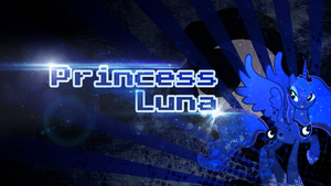 Princess Luna Wallpaper by escadara