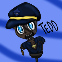 Chibi TEDD (Black ops 2) by thegreatgreywolf