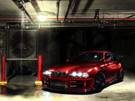 BMW ME coupe by 7RON7