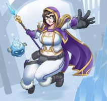Mei-ling Proudmoore by Exaxuxer