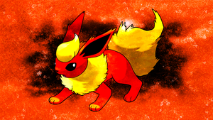 Flareon Wallpaper by Glench