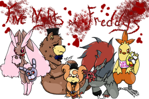 Five Nights at Freddys by Kiara-Sohma