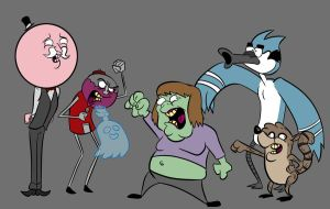 Regular Show by Huggbees