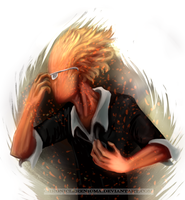 Grillby by ChroniclerEnigma