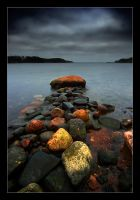 Stone Jetty V by Solkku
