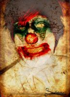 Coulrophobia. by exileinblonde
